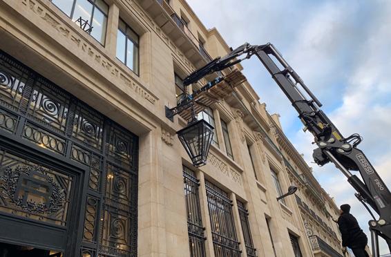 TETRIS – région Ile-de-France – Paris, rue de la Boétie (75)