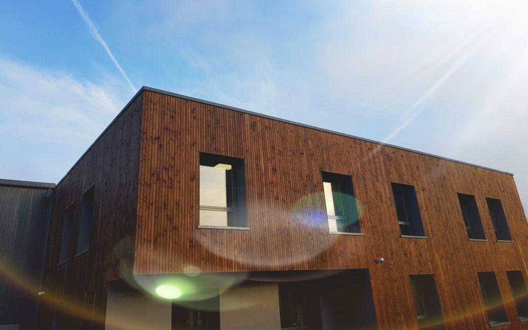 Bureaux et entrepôt neufs pour FIVO Sécurité Incendie
