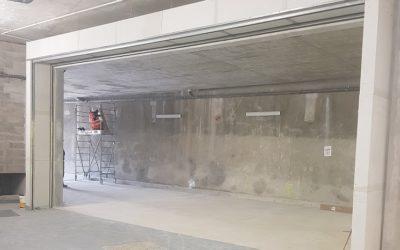 Rideau textile non irrigué coupe-feu – Stade Roland-Garros pour Vinci Construction
