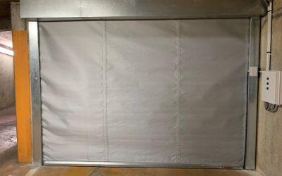 Fourniture et pose de rideaux pare-flamme E60