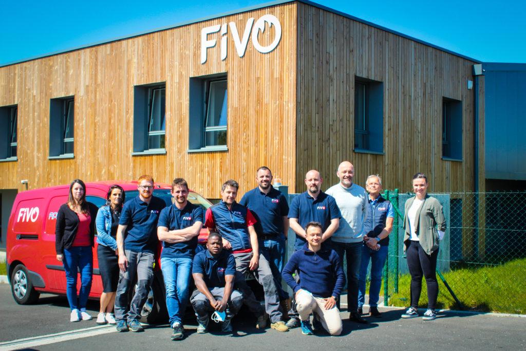 L'équipe maintenance sécurité incendie FIVO s'occupe aussi bien de portes coupe-feu que de rideaux pare-flammes ou de solutions de désenfumages