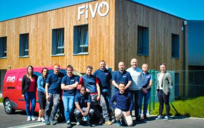 L'équipe maintenance de FIVO Sécurité incendie