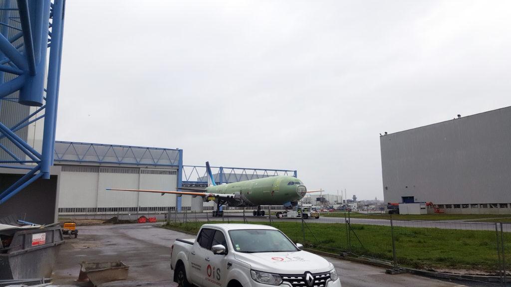 OIS est intervenu dans les locaux d'Airbus à Colomiers.