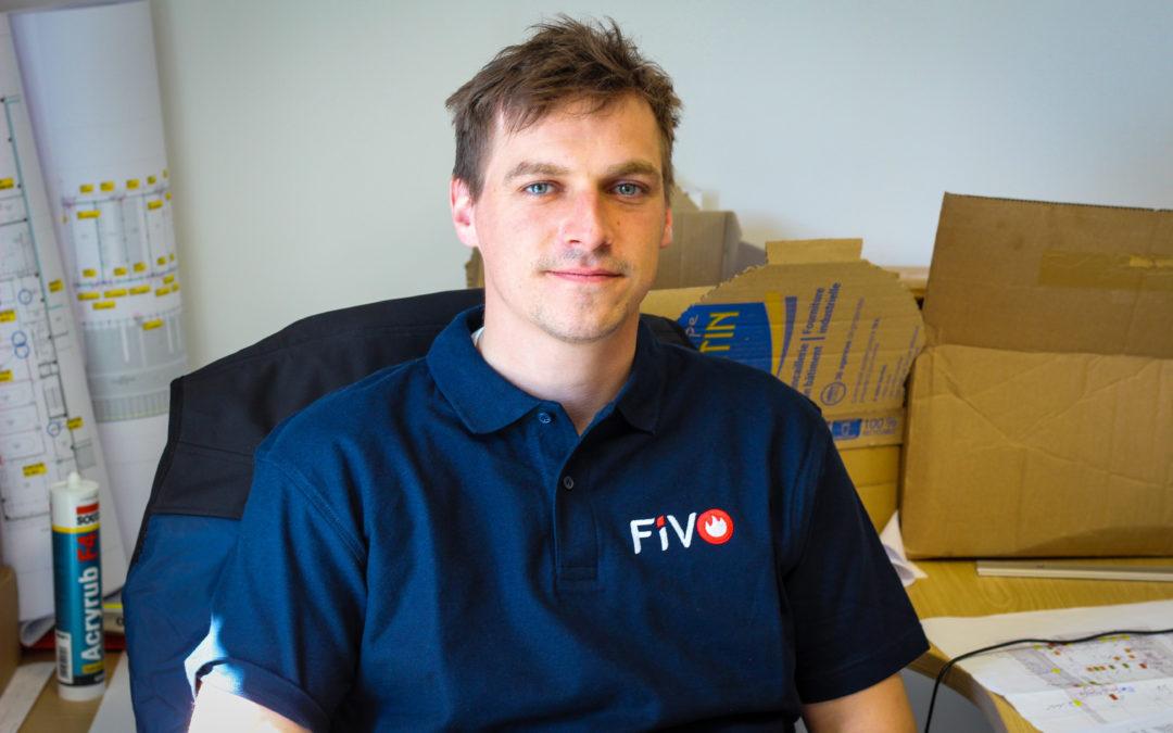 Boris Paon a rejoint FIVO pour la partie travaux neufs